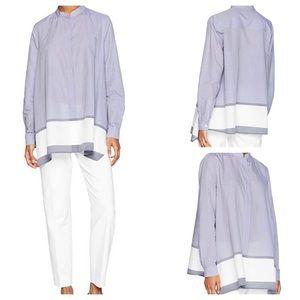 Anne Klein, Women's Chambray Tunic Blouse
